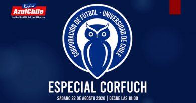 «CORFUCH» 1er Año del Renacimiento – Sábado 22 de Agosto desde las 18:00 hrs