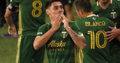 Felipe Mora vuelve a anotar en victoria de Portland