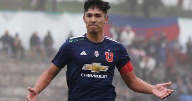 La joya de la 'U' Luis Rojas parte al fútbol italiano