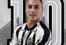 Vargas asistió de taco en su debut como jugador del Mineiro