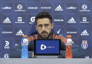 De Paul y la continuidad de Valencia en la U: «No merecía irse en este momento, lo tenemos que respaldar dentro de la cancha.»